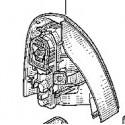 Feu arrière droit Renault Clio 2 Ph2