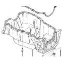 Carter moteur - Carter d'huile moteur 1.5L DCI Renault K9K 7711120025