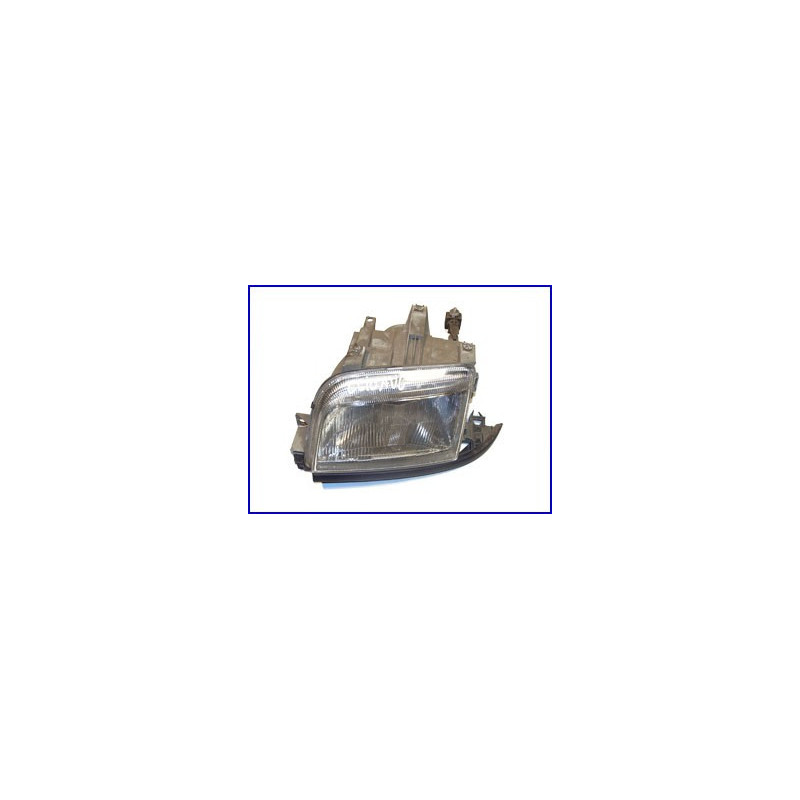 Optique de phare gauche Renault Clio 1