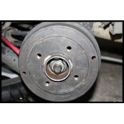 Tambour de Frein Renault Clio 2 ABS bague magnétique